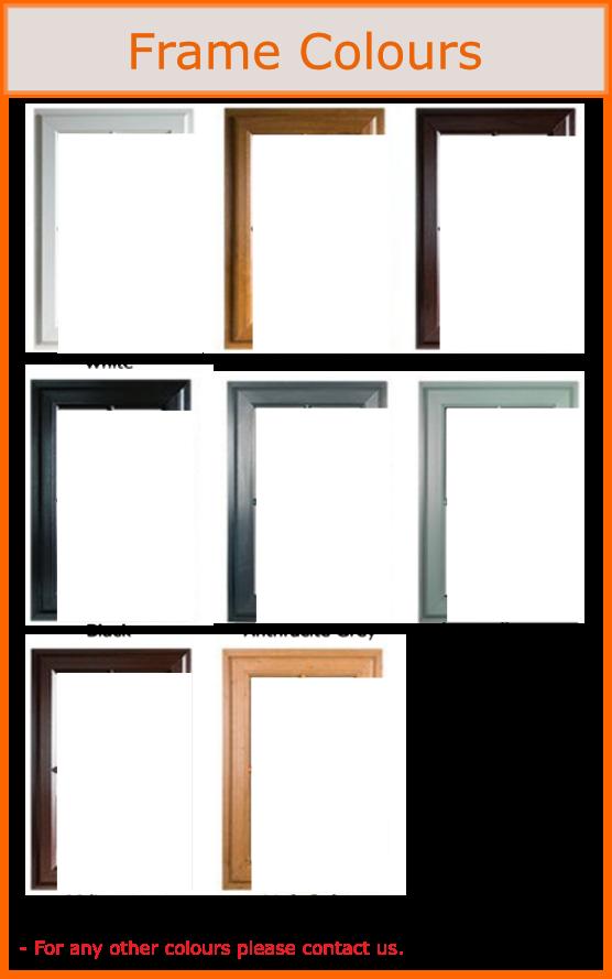 uPVC french door, residential door frame colours