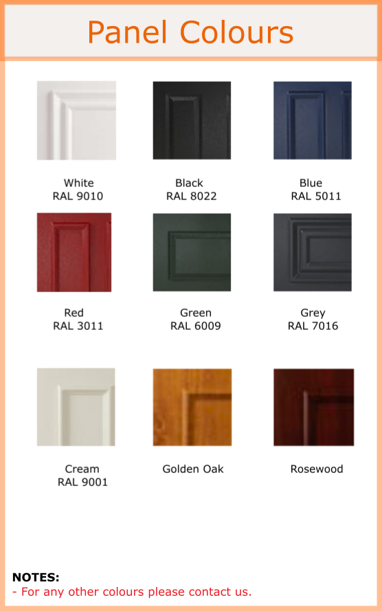 uPVC french door, residential door frame colours