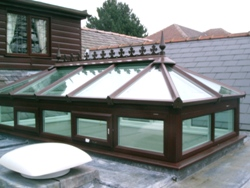 Roof Lantern-Atrium with up-stand frames-Roof Lantern with up-stand