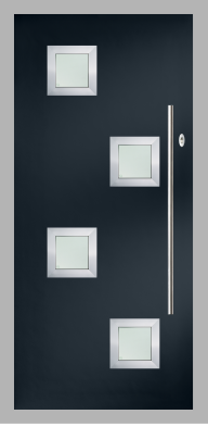 Doors-LINKS Composite Doors-Links Seminole 5 - Anodised