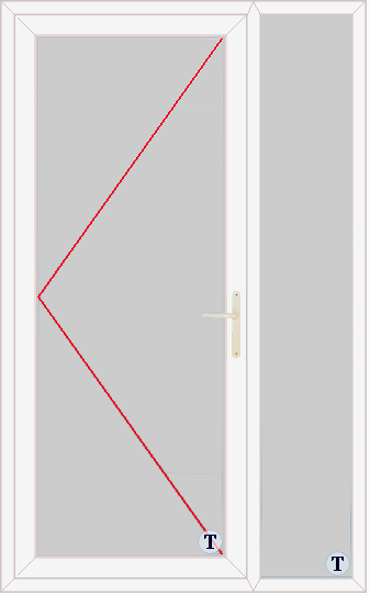XL Doors--uPVC Door Style 309