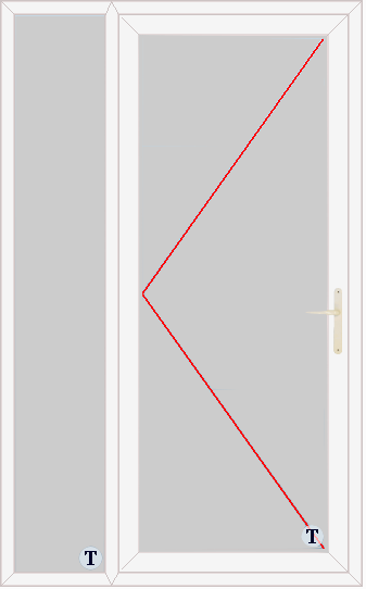 XL Doors--uPVC Door Style 310