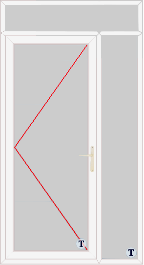 XL Doors--uPVC Door Style 317