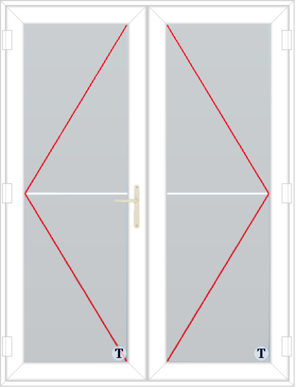 XL Doors--French Door Style 352