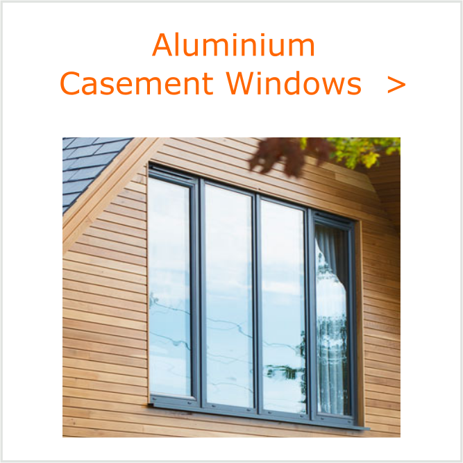Alu Casement Windows