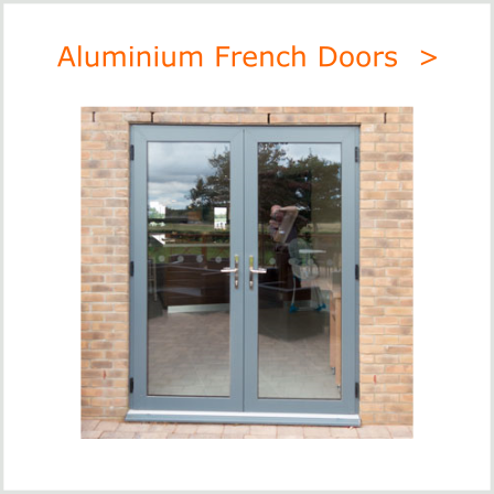 Aluminium French Doors