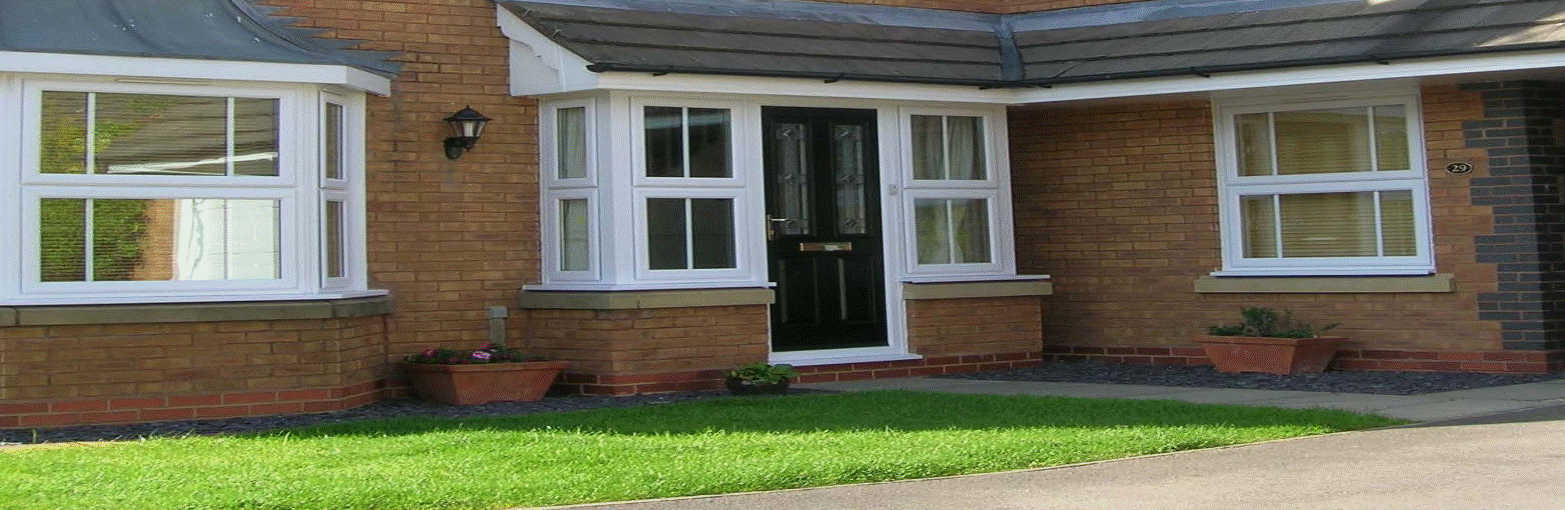 Extensive upvc casement window range including fixed lights, side and top opening