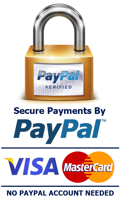 Pay securely with PayPal protection
