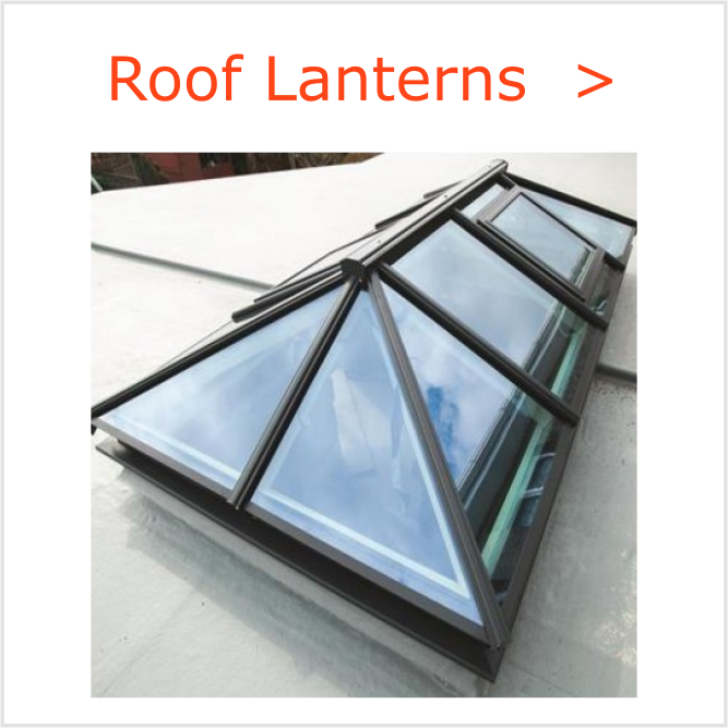 Roof Lanterns with or without up-stand frames. We can also supply slim-line roof lights and lanterns in aluminium. If you can?t see the design you are after then please give us a call to discuss your requirements.