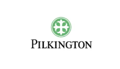 Pilkington glass logo