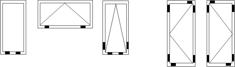 instructions on how to install glazing units using the toe and heel method